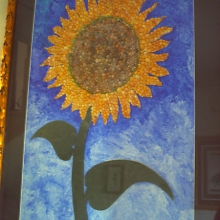 Sea shell sunflower